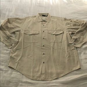 Men's Patagonia field work shirt beige